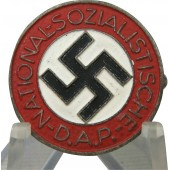 NSDAP zink badge, late type. Marked M1/34 RZM