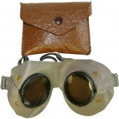 Wehrmacht or Waffen SS mountain troops protective goggles with original package.