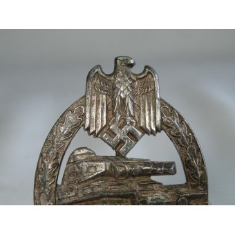 WWII German Tank Assault badge, marked HA. Panzerkampfabzeichen. Espenlaub militaria