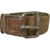 Red Army canvas belt, width 45 mm, dated 1941