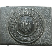 Wehrmacht parade/everyday buckle. Aluminum
