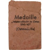 Bag of issue for Winterschlacht medal by Rudolf Souval