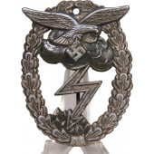 Luftwaffe ground assault badge A. Wallpach