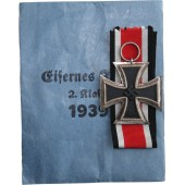 Mint W&H Iron cross II class 1939, in a packet of issue