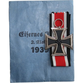 Mint W&H Iron cross II class 1939, in a packet of issue. Espenlaub militaria