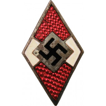 An early Hitler Youth member badge without marking. Espenlaub militaria