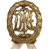DRA Sports badge In bronze