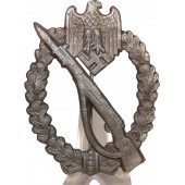 Infantry assault badge in Silver. GWL marked
