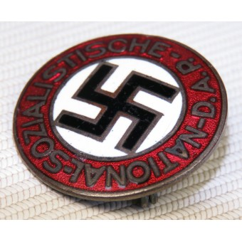 NSDAP membership badge, the early issue before RZM standard. Espenlaub militaria