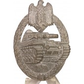 PAB silver class, Tank assault badge. Kriegsmetall