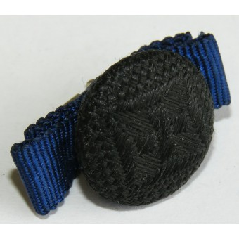 Ribbon bar for the lapel loop for the medal 4 years of service in the Wehrmacht. Espenlaub militaria