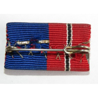 The Eastern Company and the Long service in the Reich police medals ribbon bar.. Espenlaub militaria