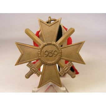War Merit Cross KVK II, 1939 2nd Class with swords. Espenlaub militaria