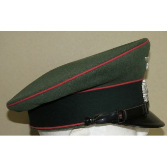 Early visor cap for the lower ranks of the armored troops of the Wehrmacht. Espenlaub militaria