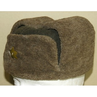 M40 Soviet Russian Winter hat. Excellent condition with traces of wear. Espenlaub militaria