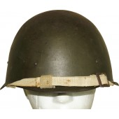 Red Army ssh-40 Steel helmet. 1945.