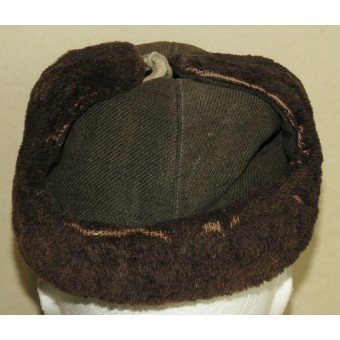 Winter hat with ear-flaps Uschanka model 1940 for the Red Navy. Espenlaub militaria