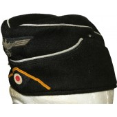 Wehrmacht armored reconnaissance officer's side cap