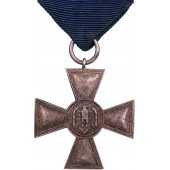 Cross for 18 years of service in the Wehrmacht