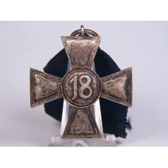 Cross for 18 years of service in the Wehrmacht. Espenlaub militaria
