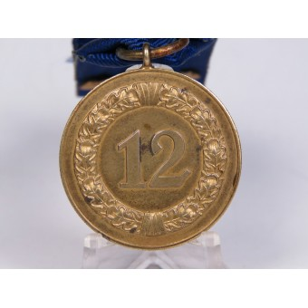 Medal for 12 years of faithful service in the Wehrmacht. Espenlaub militaria