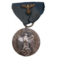 Medal for 4 years of faithful service in the Wehrmacht. Non magnetic metal