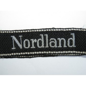 """11 SS Division """"Nordland"""" Cuff Title for command personnel"""