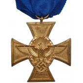 Cross for loyal service in the police of the Third Reich - 25 years of service