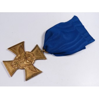 Cross for loyal service in the police of the Third Reich - 25 years of service. Espenlaub militaria