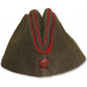 Garrison cap M 1935 for the command staff of the artillery of the Red Army