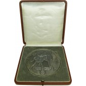 3rd Reich Reichsparteitag Alloy Medallion  / table medal 1938
