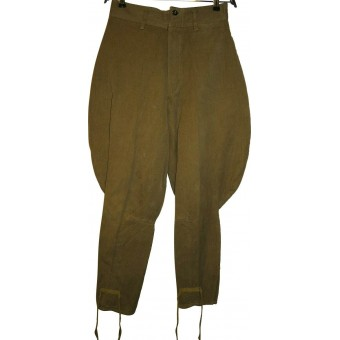 Cotton M 35 Red Army breeches, unmarked. Espenlaub militaria