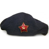 Female beret of RKKA with red star,  rare!