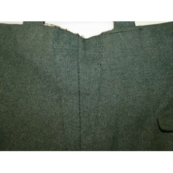Infantry, white piped private purchased trousers for Waffenrock. Espenlaub militaria