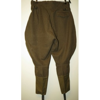 M 35 Lend lease wool and buttons made trousers, dated 1944. Espenlaub militaria