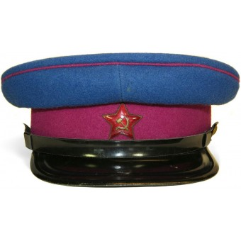 M35 NKVD visor hat, circa end of 30s. Rare combination. Espenlaub militaria