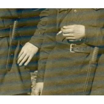 NR-37 scout knife, leather scabbard, rare!. Espenlaub militaria