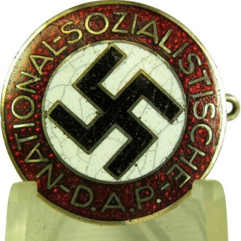 NSDAP member badge marked M 1 /42. Espenlaub militaria