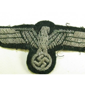 Tunic removed Wehrmacht Heer officers bullion eagle. Espenlaub militaria