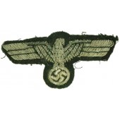 Tunic removed Wehrmacht Heer officers bullion eagle