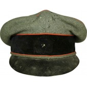 Very early SS styled hat with traces of  SS insignia