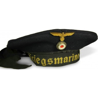 WW2 German Navy, Kriegsmarine sailor's hat. Espenlaub militaria