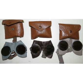 Wehrmacht or Waffen SS mountain troops protective goggles with original package.. Espenlaub militaria