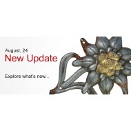 August, 24  NEW UPDATE is online now!