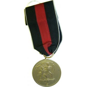 Medal for annexation of Czechoslovakia. Espenlaub militaria