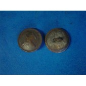 WW 2 Russian 22 mm steel buttons, technical and armored troops