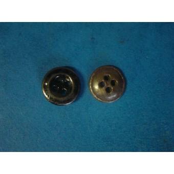 WW2 Russian 16 mm steel buttons for gimnasterka. Espenlaub militaria
