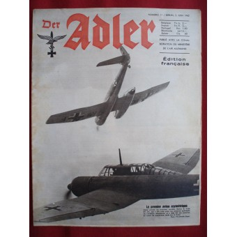 Der ADLER French language! June, 1942.. Espenlaub militaria