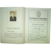 DRL Reichsportabzeichen , sportbadge certificate