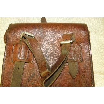 Early Wehrmacht Heer or Luftwaffe leather mapcase.. Espenlaub militaria